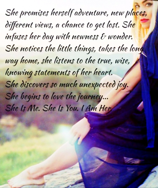 She is Me. She is You. I Am Her....